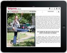 Trixie Cordua, Falke eMagazine - Berlin